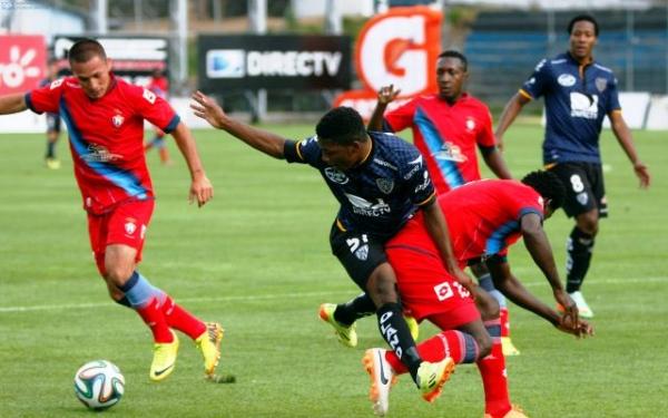 El Nacional ganó 3 - 2 al Independiente del Valle en Sangolquí