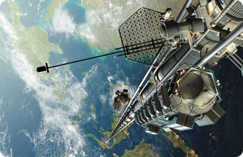 Google está diseñando elevadores espaciales