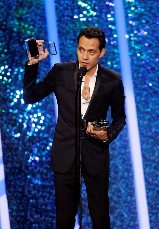 Marc Anthony dedica a Cheo Feliciano sus tres premios Billboard
