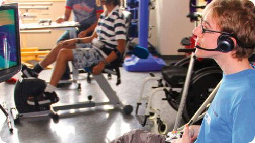 Niños paralíticos usan Kinect como medio de terapia