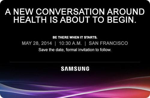 Samsung anuncia un evento relacionado con la salud