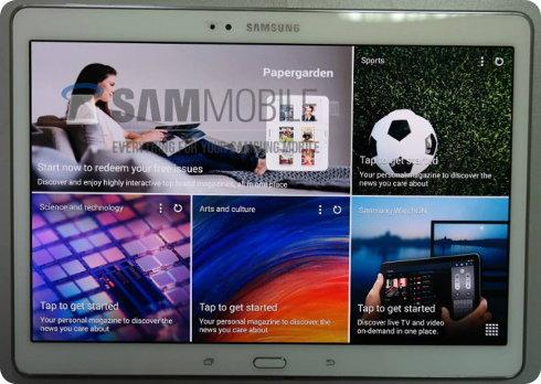 Se filtran fotos de la Samsung Galaxy Tab S