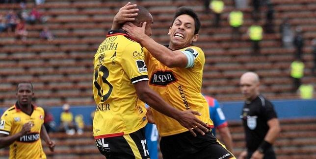 Barcelona SC ganó de visita 3 a 1 a la SD Quito