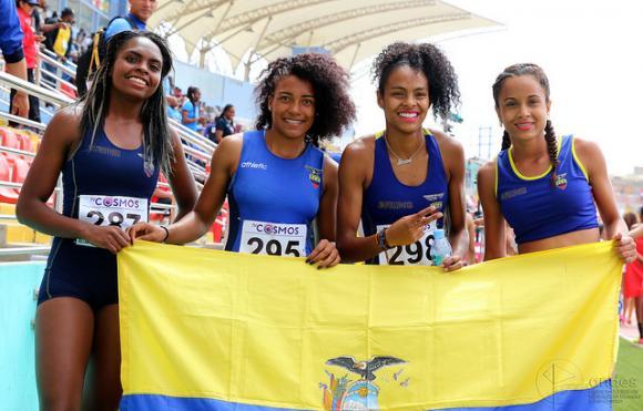 Ecuador logra histórica participación en el Panamericano Sub 20 de Atletismo