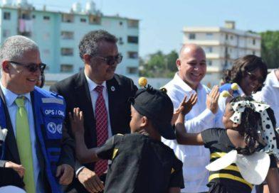 Director general de la OMS celebra esfuerzos de Cuba en prevención de enfermedades