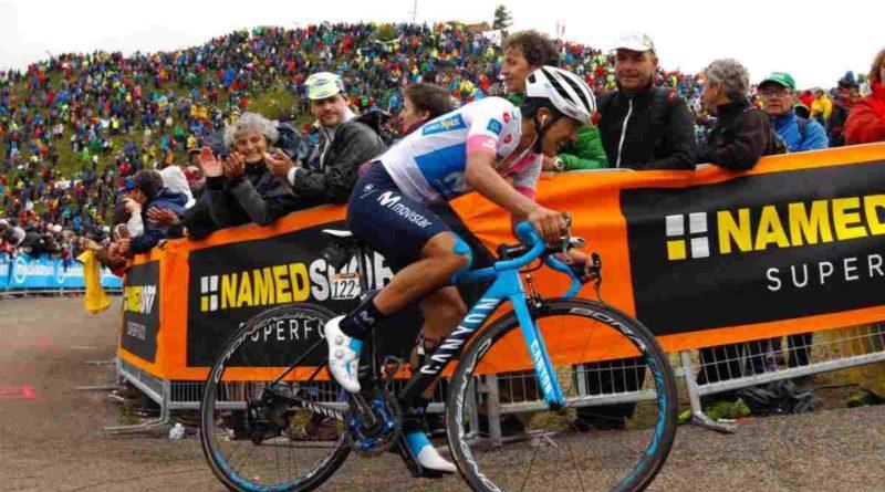 Giro de Italia: Richard Carapaz lo dio todo en el Zoncolan