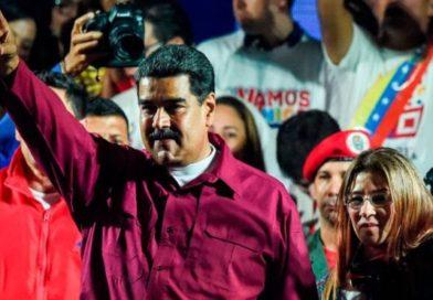 Nicolás Maduro celebró su victoria en las elecciones fraudulentas en Venezuela