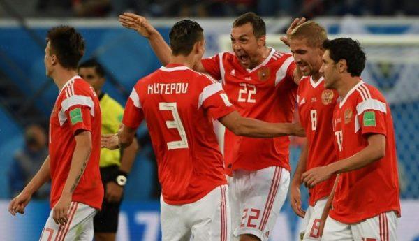 Rusia venció a Egipto 3-1 Mundial Rusia 2018