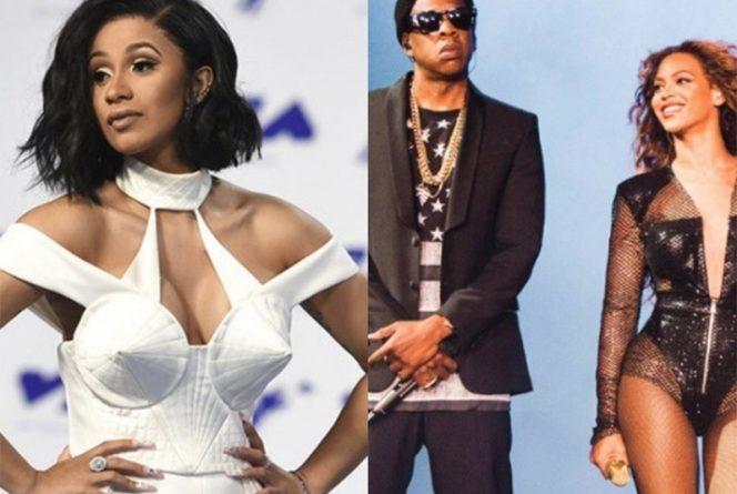 Cardi B con Beyoncé y Jay-Z copan nominaciones a los MTV