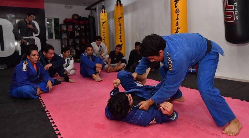 Luchando liberas el estrés y la tensión