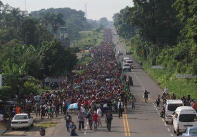 Hondureños miembros de la caravana migrante retornaron al país