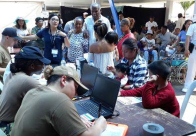 Primer día de atención de brigada médica de Estados Unidos en Esmeraldas