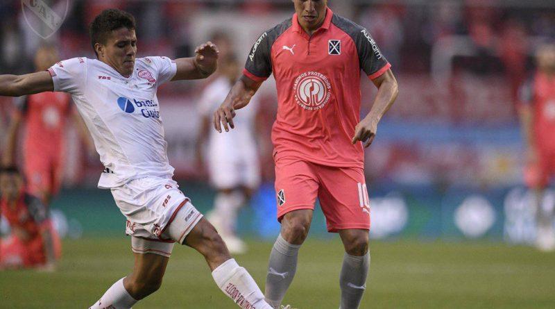Asistencia de Fernando Gaibor en el triunfo de Independiente