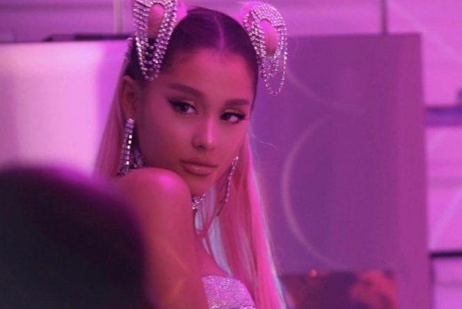 Ariana Grande se la pasa de lujo en su nuevo videoclip