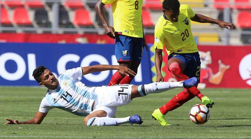 Ecuador vence 1-0 Argentina  Sudamericano Sub 20
