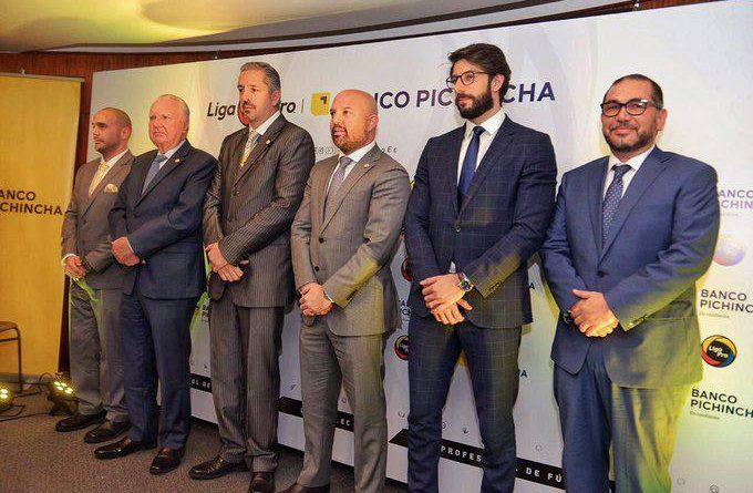Banco Pichincha, nuevo auspiciante de la LigaPro de Ecuador