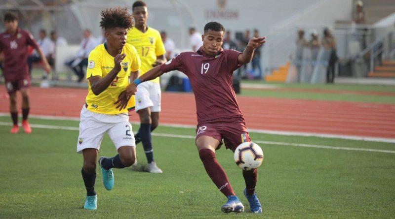 Ecuador y Venezuela 1-1 – Sudamercano Sub 17  2019