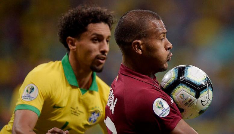 Emocionante empate entre Brasil y Venezuela