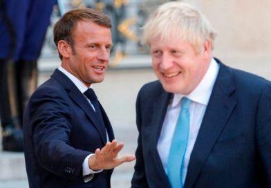 Brexit: tras la reunión con Merkel, Boris Johnson habló con Macron