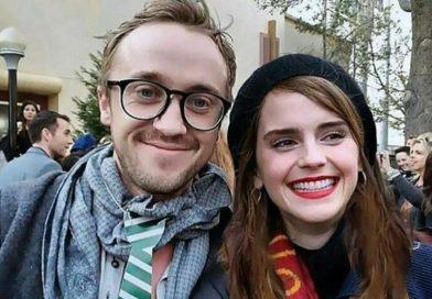 La foto de Emma Watson en pijama junto a Tom Felton
