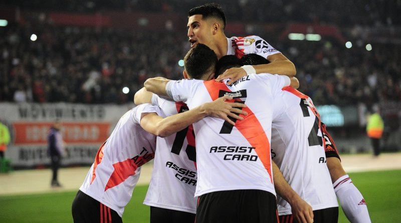River le ganó a Cerro Porteño  Copa Libertadores
