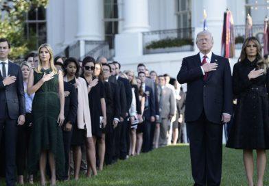 Donald Trump, en el homenaje a las víctimas del 11-S