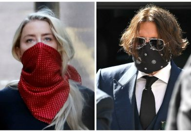 Johnny Depp y Amber Heard su reencuentro en la corte