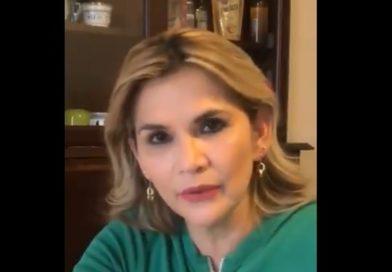 La presidenta de Bolivia Jeanine Áñez tiene coronavirus