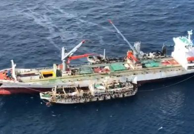 Medio público francés muestra presencia de flota china frente a Galápagos