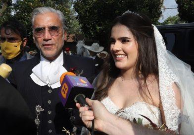 La hija de Alejandro Fernández se casa en México al estilo charro