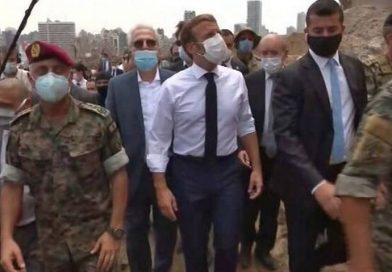Emmanuel Macron sobre las explosiones en Beirut
