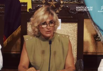 Alcaldesa Cynthia Viteri y su rendición de cuentas 2019
