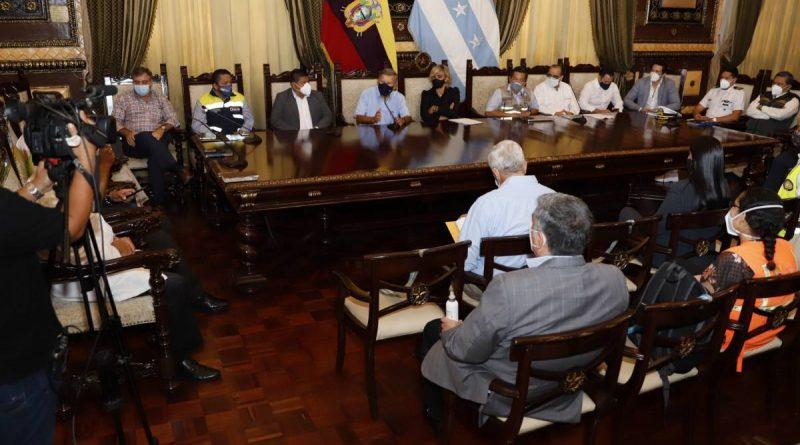 COE de Guayaquil informa disminución de contagios y medidas de prevencion