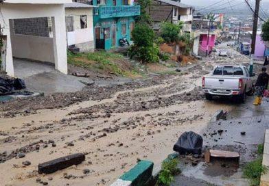 Emergencias por lluvias en Esmeraldas y Santo Domingo de los Tsáchilas