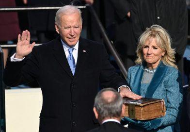 Joe Biden tomo posesión como Presidente 46 de EE.UU