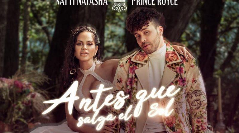 Natti Natasha y Prince Royce estrenan el videoclip de Antes que salga el sol