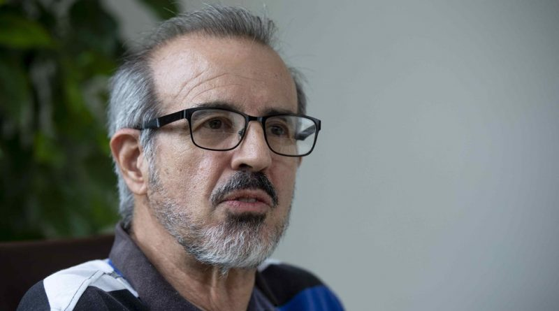"""Luis Carrión prometió """"luchar por la libertad de los presos políticos"""""""