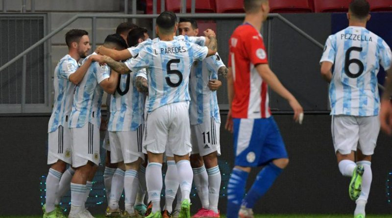 Argentina le gana a Paraguay 1 – 0 Copa América 2021