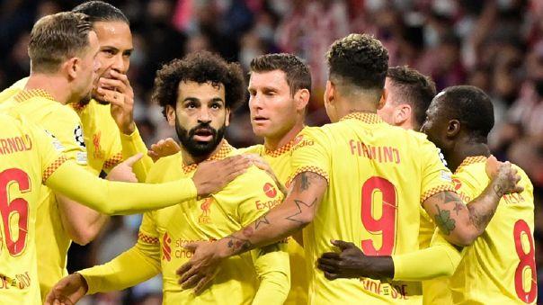 Liverpool golpea al A.Madrid – 3 – 2